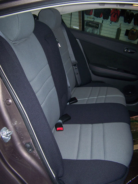 nissan maxima standard color seat covers rear seats wet okole hawaii. Black Bedroom Furniture Sets. Home Design Ideas