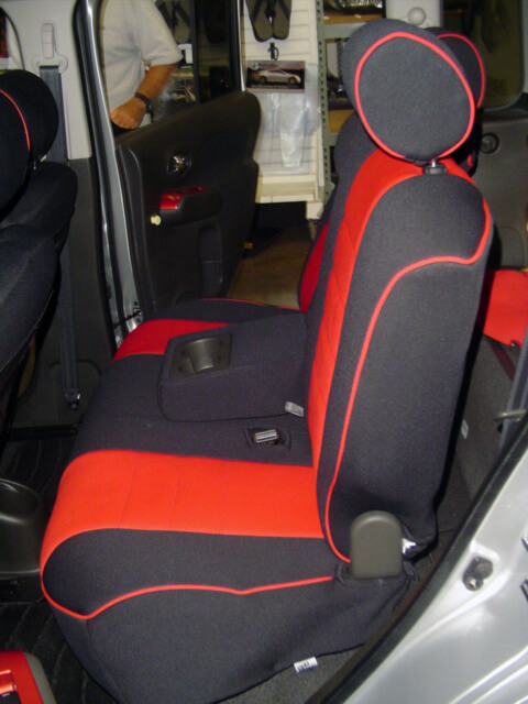 Nissan Seat Cover Gallery
