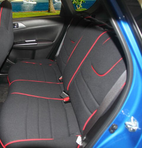 Superb Subaru Ascent Full Piping Seat Covers Rear Seats Wet Caraccident5 Cool Chair Designs And Ideas Caraccident5Info