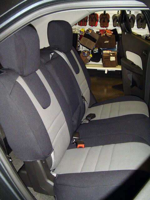 Delightful Chevrolet Equinox Rear Seat Cover (2010 Current)