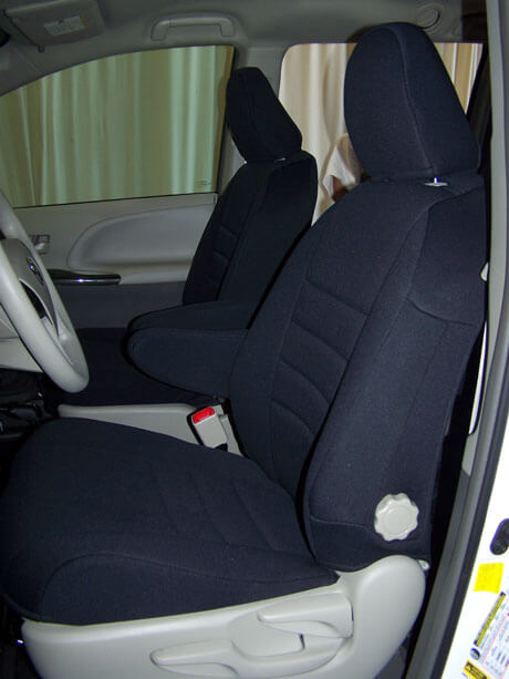 Toyota Sienna Front Seat Covers 10 Current