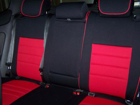 Volkswagen GTI Half Piping Seat Covers - Rear Seats: Wet Okole Hawaii
