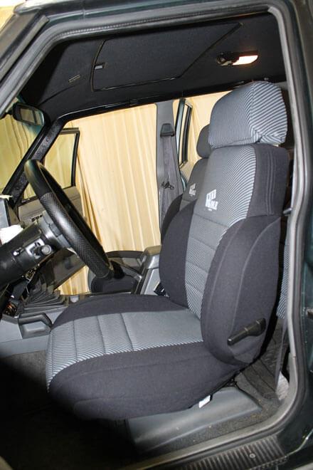 Jeep Cherokee Laredo Front Seat Covers (84 95)