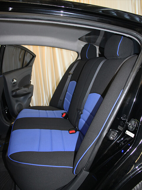 Nissan Versa SV Rear Seat Covers 13 Current