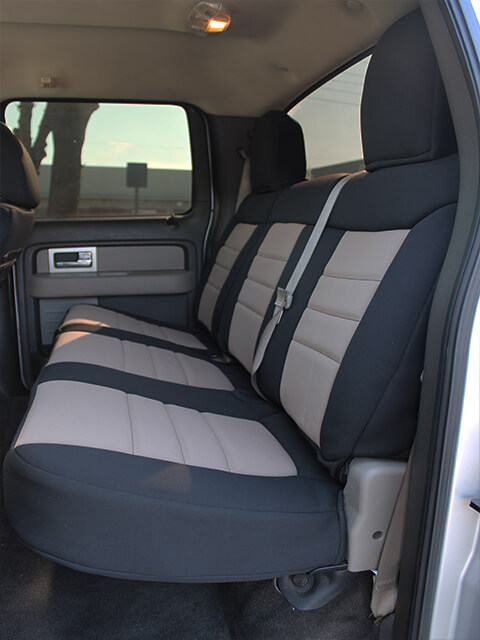 ford f150 standard color seat covers - rear seats: wet okole hawaii