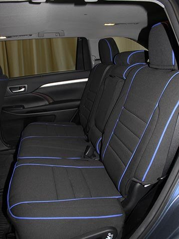 Toyota Highlander Full Piping Seat Covers