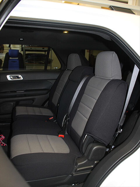 Ford Explorer Standard Color Seat Covers - Middle Seats : ford explorer car seat covers - markmcfarlin.com