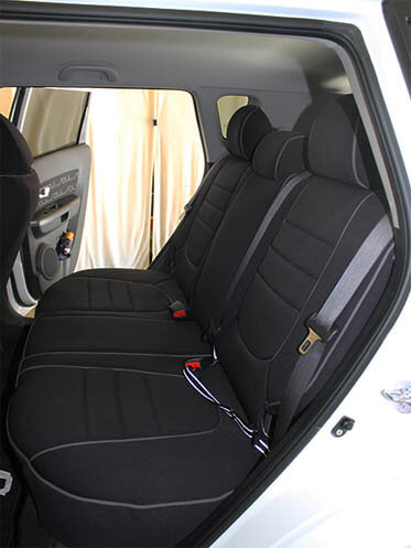 kia soul full piping seat covers rear seats wet okole hawaii. Black Bedroom Furniture Sets. Home Design Ideas