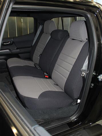 Toyota Tacoma Standard Color Seat Covers - Rear Seats ...
