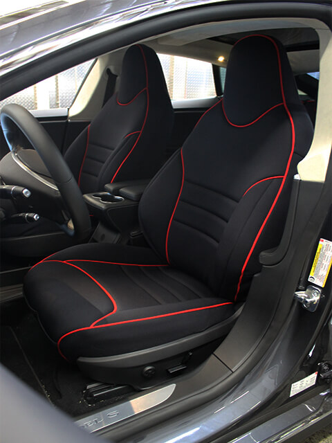 Tesla Model S Full Piping Seat Covers