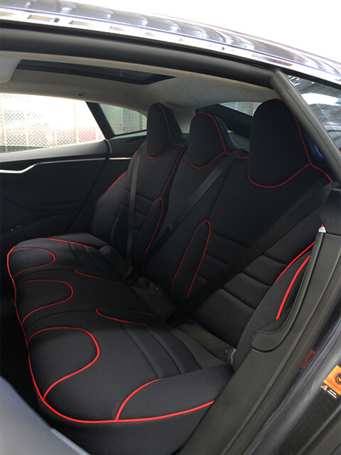 Tesla Seat Cover Gallery - Wet Okole Hawaii