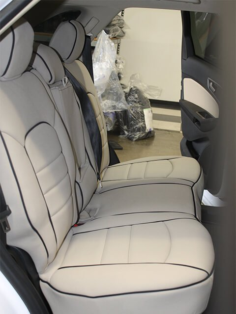 Ford Edge Full Piping Seat Covers Rear Seats