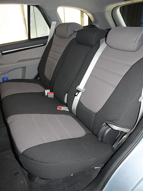hyundai santa fe standard color seat covers rear seats wet okole hawaii. Black Bedroom Furniture Sets. Home Design Ideas