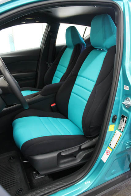 toyota seat covers ch current front