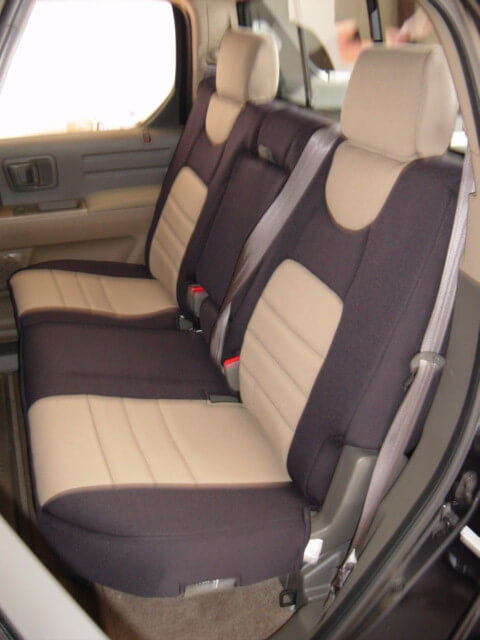 Attractive Honda Ridgeline Standard Color Seat Covers   Rear Seats