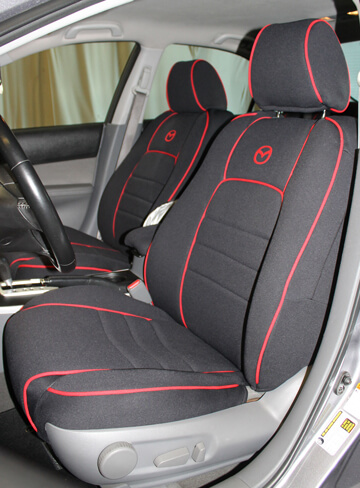 Great Mazda 5 Full Piping Seat Covers