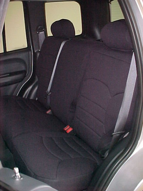 Jeep Liberty Standard Color Seat Covers Rear Seats Wet