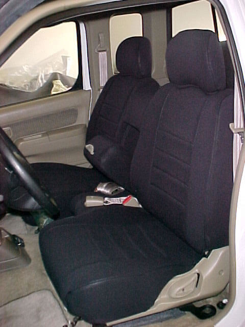 nissan frontier standard color seat covers wet okole hawaii. Black Bedroom Furniture Sets. Home Design Ideas