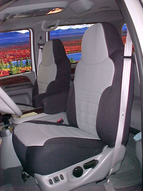 Ford Excursion Half Piping Seat Covers
