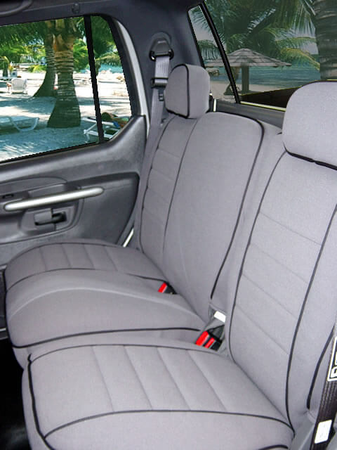 Ford Explorer Full Piping Seat Covers - Rear Seats : ford explorer car seat covers - markmcfarlin.com