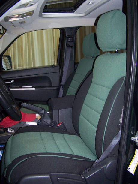 Jeep Liberty Half Piping Seat Covers
