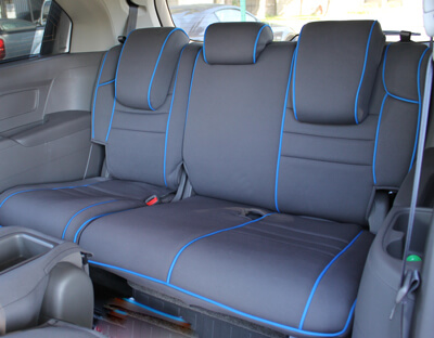 Amazing Honda Odyssey Full Piping Seat Covers   Rear Seats
