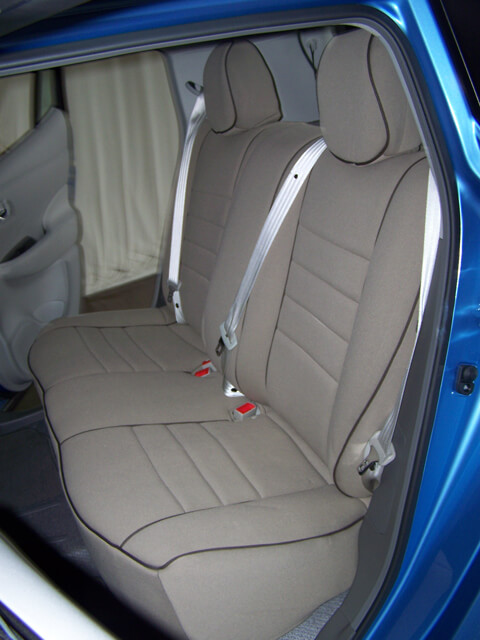 Nissan Leaf Full Piping Seat Covers Rear Seats
