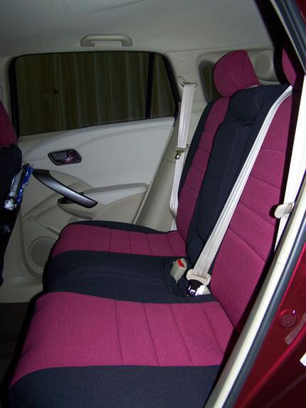 Acura RDX Standard Color Seat Covers Rear Seats Wet Okole Hawaii - Acura rdx seat covers