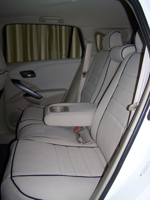 Acura RDX Full Piping Seat Covers Rear Seats Wet Okole Hawaii - Acura rdx seat covers