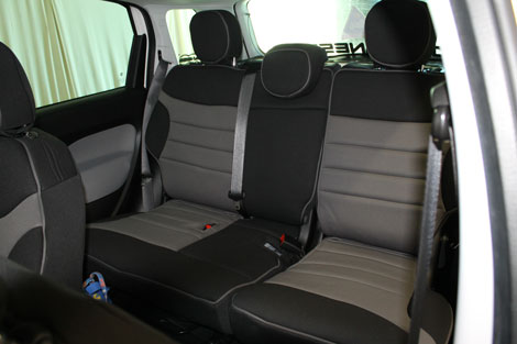 Fiat 500 Seat Cover Gallery