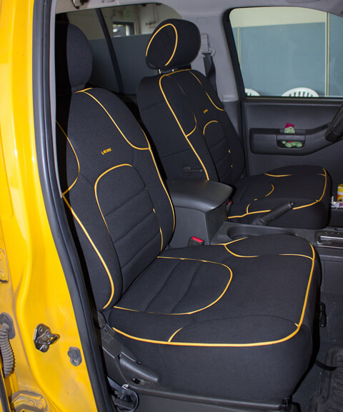 Nissan X Terra Full Piping Seat Covers