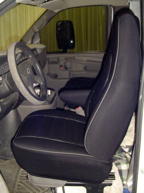 Chevrolet Astro Van Full Piping Seat Covers