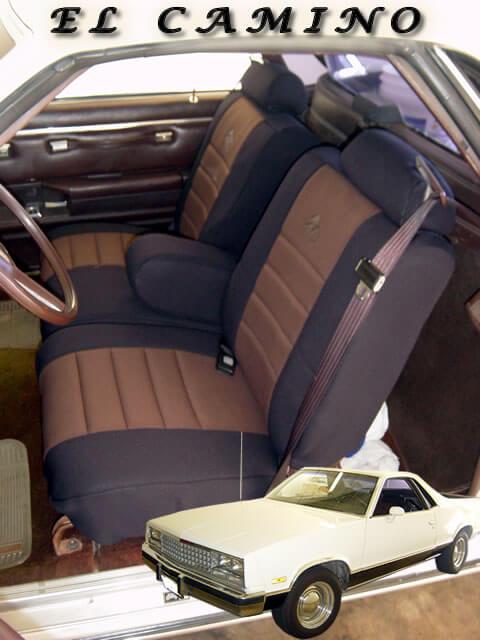 Chevrolet El Camino Standard Color Seat Covers Wet Okole Hawaii