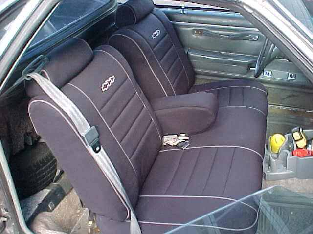Chevrolet El Camino Full Piping Seat Covers Wet Okole Hawaii