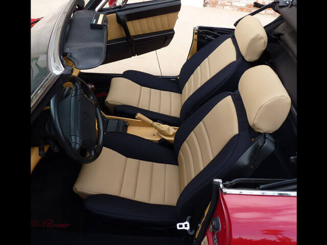 Alfa Romeo Spider Standard Color Seat Covers Wet Okole Hawaii - Alfa romeo seat covers