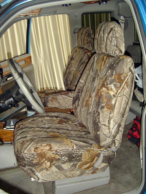 GMC Sierra Realtree Seat Covers