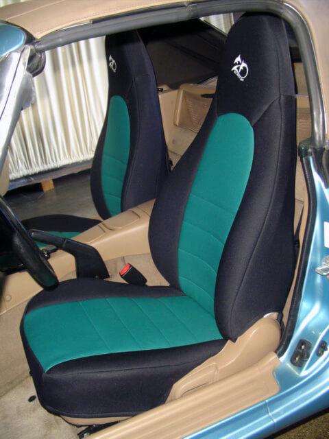 Miata Neoprene Seat Covers Velcromag