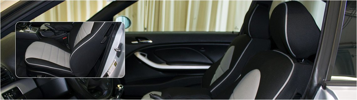 Custom fit car seat covers for your car, truck, SUV or van