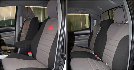 Toyota Tacoma Front Car Seat Covers